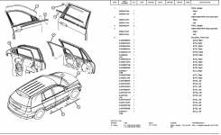 2004 Chrysler Pacifica Parts Images – Reverse Search with 2006 Chrysler Pacifica Parts Diagram