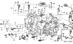 2004 Honda Pilot: Me That It Is The 3Rd Or 4Th Gear Pressure Switch in 2005 Honda Pilot Parts Diagram