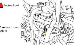 2005-2006 Nissan Altima With 3.5 Engine Air/fuel Ratio And O2 with regard to 2005 Nissan Altima Engine Diagram