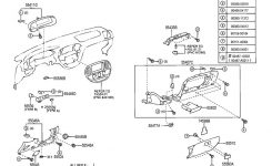 2005-2007 Toyota Sequoia Dash Switch Base Trim New Sandalwood intended for 2005 Toyota Sequoia Parts Diagram