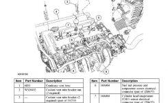 2005 Ford Escape Valve Cover Gasket: Need To Know Stepstep To regarding 2002 Ford Escape Engine Diagram