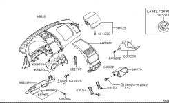2005 Nissan Altima Sedan Oem Parts – Nissan Usa Estore regarding 2005 Nissan Altima Parts Diagram