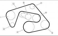 2006 Nissan Frontier Le Serpentine Belt Diagram – Serpentinebelthq pertaining to 2006 Nissan Frontier Engine Diagram
