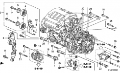 2006 Two Kinds Of Idler Pulleys?! within 2006 Honda Odyssey Engine Diagram