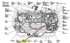 2007 Ford Focus Engine Diagram Ford Focus Mk Engine Diagram Ford pertaining to Ford Focus Engine Parts Diagram