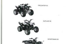 2011 Outlaw 50 90, Sportsman 90 Polaris Atv Service Manual for Polaris Sportsman 90 Parts Diagram