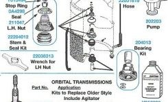 204463, 2-04463, Washer Timer, Maytag, Appliance Parts. with regard to Maytag Neptune Washer Parts Diagram