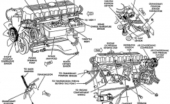 28+ [ 1999 Jeep Cherokee Parts Diagrams ] | 53020598Ab Genuine with regard to Jeep Grand Cherokee Engine Diagram