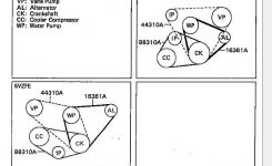 3.4 Drive Belt Diagram Help – Yotatech Forums pertaining to 2001 Toyota Tacoma Engine Diagram