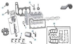 3.7L Engine Parts – 4 Wheel Parts for 2002 Jeep Liberty Engine Diagram