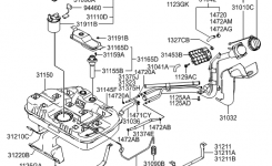 31111-09000 – Genuine Hyundai Pump-Fuel pertaining to 2005 Hyundai Elantra Engine Diagram