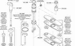 34 Series Marielle within Price Pfister Kitchen Faucet Parts Diagram