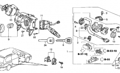 35130-S0X-A02 – Genuine Honda Switch, Steering pertaining to 2003 Honda Odyssey Parts Diagram