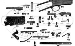 37 Schematic | Numrich inside Marlin Camp 9 Parts Diagram