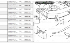 38 Inch Mower Deck Disassembly For Cub Cadet 1620 Lawn – Fixya throughout Cub Cadet Lt1042 Parts Diagram