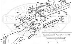 39M Schematic | Numrich pertaining to Marlin Model 60 Parts Diagram