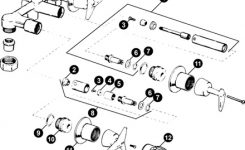 53 Kohler Alterna Shower Valve Parts, Alterna Series Two Handle intended for Kohler Shower Valve Parts Diagram