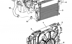 55116868Aa – Genuine Mopar Hose-Radiator Outlet intended for 2005 Jeep Grand Cherokee Parts Diagram