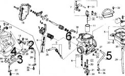 86 Trx 250 Fourtrax Vacuum Diagram – Honda Atv Forum for Honda 300 Fourtrax Parts Diagram
