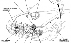 96 Honda Wiring Diagram Honda Civic Radio Wiring Diagram Image inside 94 Honda Accord Engine Diagram