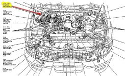 97 Explorer: Wiring Diagram..cd Changer..in-Dash Cd Player within 1997 Ford Explorer Engine Diagram