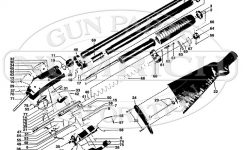 97 (Takedown & Solid Frame) Schematic | Numrich for Winchester Model 12 Parts Diagram
