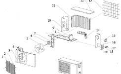 Air Conditioner Parts For Assembling And Repairing Manufacturer in Carrier Air Conditioner Parts Diagram