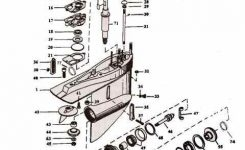 Alpha Exploded View Outdrive Parts Drawings intended for Mercruiser Alpha One Parts Diagram