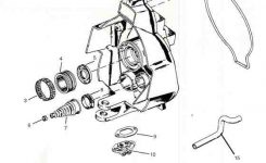 Alpha Exploded View Outdrive Parts Drawings with regard to Bravo 1 Outdrive Parts Diagram