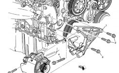 Alternator Location And Replacement 2004 Srx intended for 2003 Cadillac Cts Engine Diagram