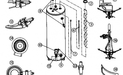 American Waterheaters Water Heater Parts | Model Bfg1F4034T3Nov for Gas Water Heater Parts Diagram
