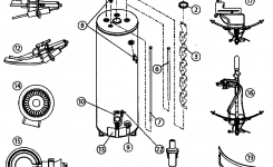 American Waterheaters Water Heater Parts | Model Fg1F4040S3Pv throughout Hot Water Heater Parts Diagram