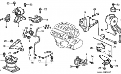 Assitance Before I Replace Engine Mounts? – Page 2 in 2006 Honda Odyssey Engine Diagram