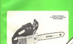 Auto Manuals, Sales Brochures, Transportation Literature And Books for Stihl 012 Av Parts Diagram