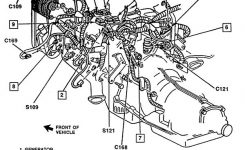 Basic Car Parts Diagram | 1989 Chevy Pickup 350 Engine Exploded inside Gm Parts Diagrams Exploded Views
