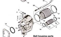 Bell Housing Drawing P/n 11-20 throughout Bravo 1 Outdrive Parts Diagram