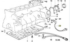Bmw E30/e36 Crankshaft Position Sensor Replacement | 3-Series with regard to 1997 Bmw 528I Engine Diagram
