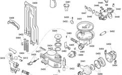 Bosch Dishwasher Parts | Bosch Dishwasher for Bosch Exxcel Dishwasher Parts Diagram