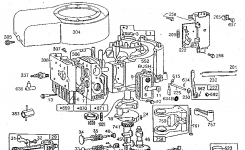 Briggs & Stratton 11 Hp. Briggs & Stratton Engine Parts | Model regarding Briggs And Stratton Engine Parts Diagram