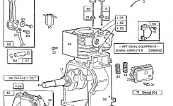 Briggs & Stratton 3 H.p. Tiller-Engine Parts | Model 080202230501 within Briggs And Stratton Engine Parts Diagram