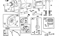 Briggs & Stratton Briggs And Stratton Engine Parts | Model throughout Briggs And Stratton Engine Parts Diagram