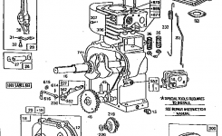 Briggs & Stratton Engine Briggs And Stratton Parts | Model regarding Parts Diagram For Briggs & Stratton Engine