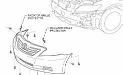 Can Somebody Show Me Diagram How To Take Off The Front Bumper in Toyota Camry Body Parts Diagram