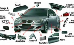Car Parts Vocabulary With Pictures Learning English throughout Car Exterior Body Parts Diagram
