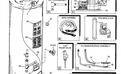 Car. Water Boiler Wiring Diagrams: Room Thermostat Wiring Diagrams throughout Electric Hot Water Heater Parts Diagram