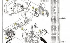 Chain Saw Parts List Mc Culloch , Mac 110, 120, 130, 134, 140 with regard to Stihl Chainsaw 009 Parts Diagram