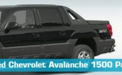 Chevrolet Avalanche 1500 Parts – Partsgeek for 2002 Chevy Avalanche Parts Diagram
