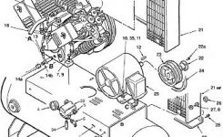 Coleman Ih991946 Air Compressor Parts, Repair Kits, Breakdowns with regard to Ingersoll Rand Compressor Parts Diagram