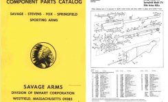Cornell Publications -Savage, Stevens, Fox 1972 Component Parts regarding Savage Model 110 Parts Diagram