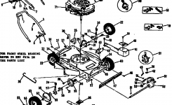 Craftsman Craftsman 22 In. Self-Propelled Lawn Mower Parts | Model for Craftsman Lawn Mower Parts Diagram